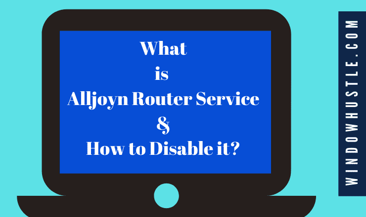 What is Alljoyn Router Service