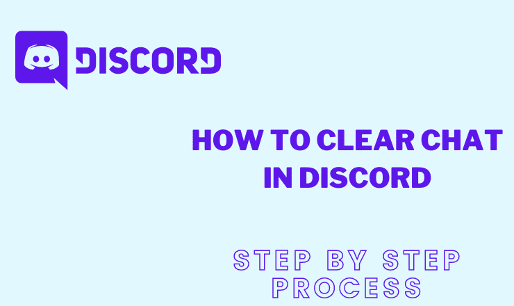 How to clear chat in discord