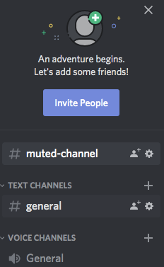 Inviting people in discord